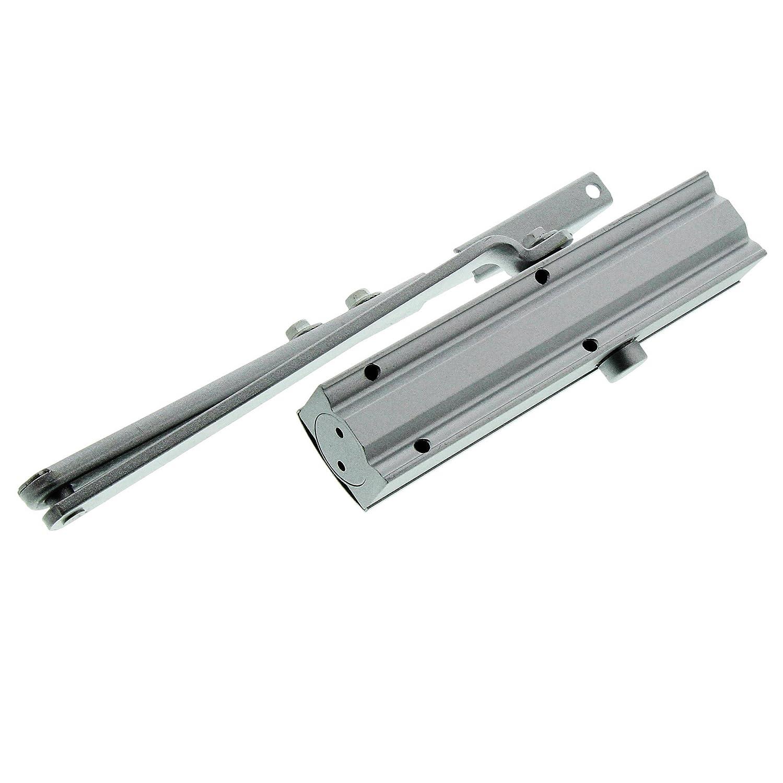 T/ürbreite bis 95 cm BURG-W/ÄCHTER T/ürschlie/ßer Silber TS 503 S T/ürgewicht bis 60 kg