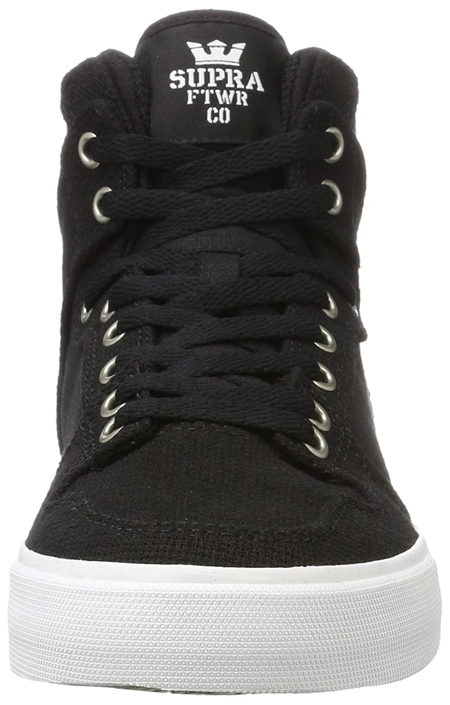 Supra Vaider LC Sneaker B01N4N54M0 12 D(M) US|Black-white/White
