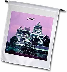 Florene Worlds Exotic Spots - Kumamoto Japan - 18 x 27 inch Garden Flag (fl_62513_2)