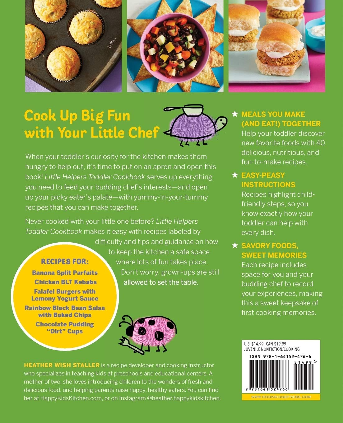 Little Helpers Toddler Cookbook Healthy, Kid Friendly Recipes to ...