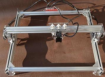 DIY 150mW máquina de grabado láser, Cámara grabadora de dibujar, indicador, plotter del palpador mesa de bricolaje para CNC impresora de marcado, Cortapapeles, 30 x 40 cm: Amazon.es: Bricolaje y herramientas