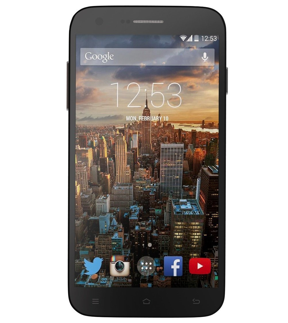 RCA G1 5.5'' Hd, Unlocked Dual Sim, 8Mp Camera, 8Gb Rom, 1Gb Ram, android 4.4 – Black