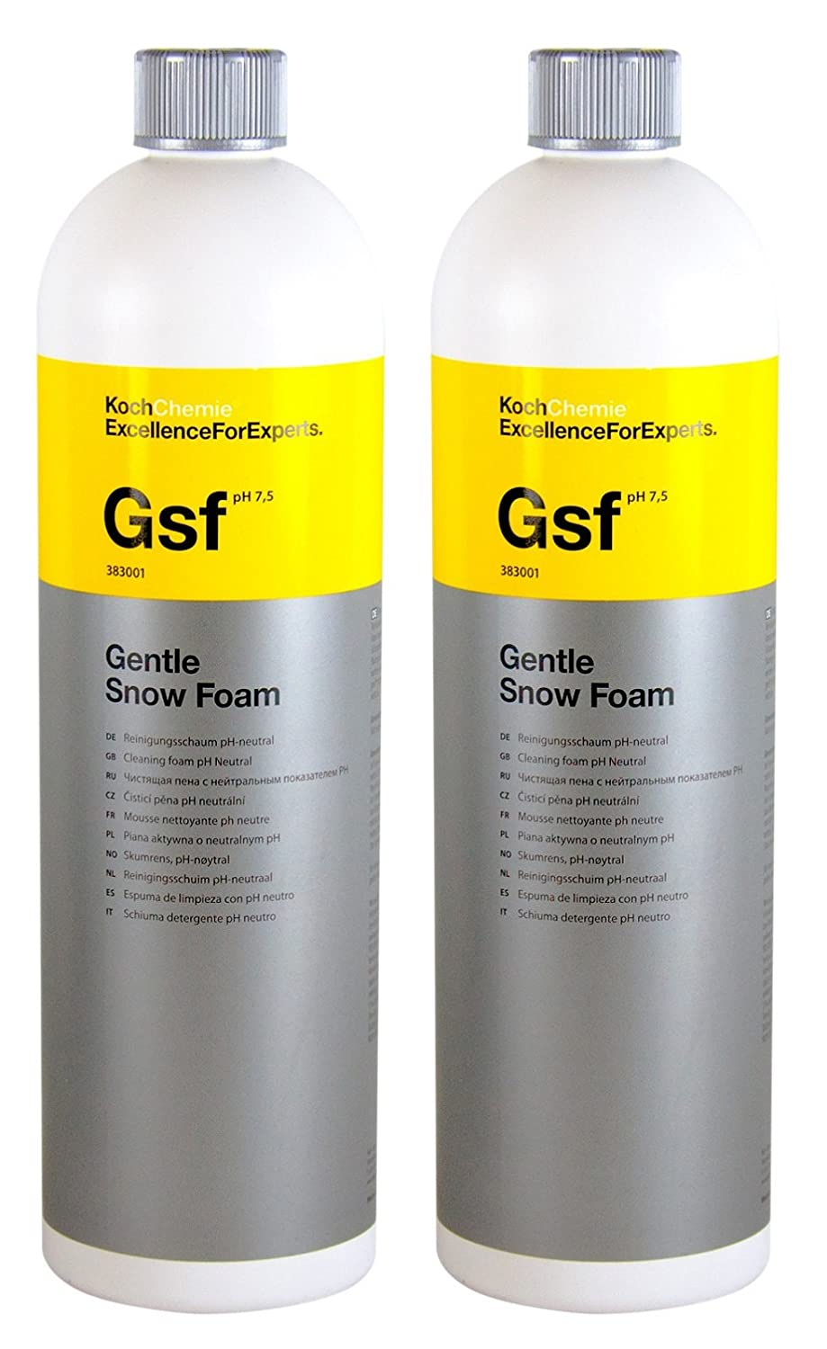 Koch Chemie 2x Gsf Gentle Snow Foam Reinigungsschaum pH-neutral 1 L Liter
