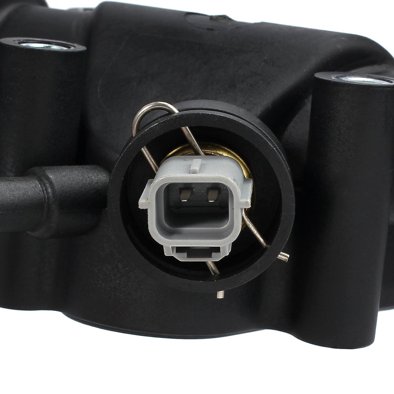 AUTOUTLET Thermostat Geh/äuse Dichtung Sensor K/ühlung K/ühlmittel F/ür FORD KA RB 1.3 1.6L XS6E8A586AG
