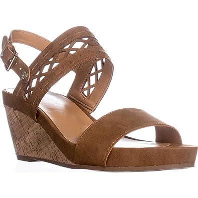 Tommy Hilfiger Damenschuhe Damenschuhe Damenschuhe Jenesis Open Toe Casual Platform, Medium Braun a8770f