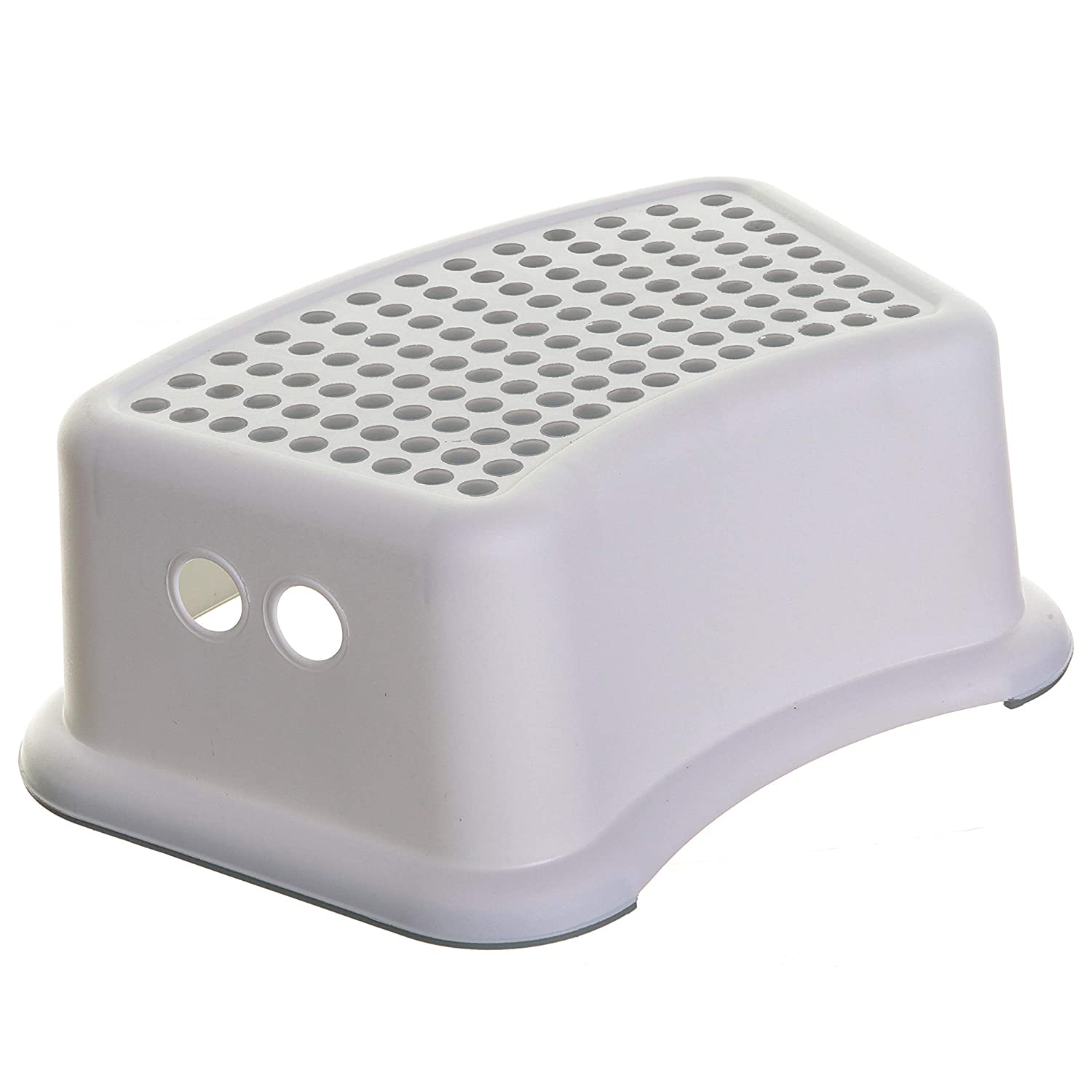 Dreambaby Step Stool Grey Dots, Toddler Potty Training Aid with Non Slip Base - Model L673 : Baby