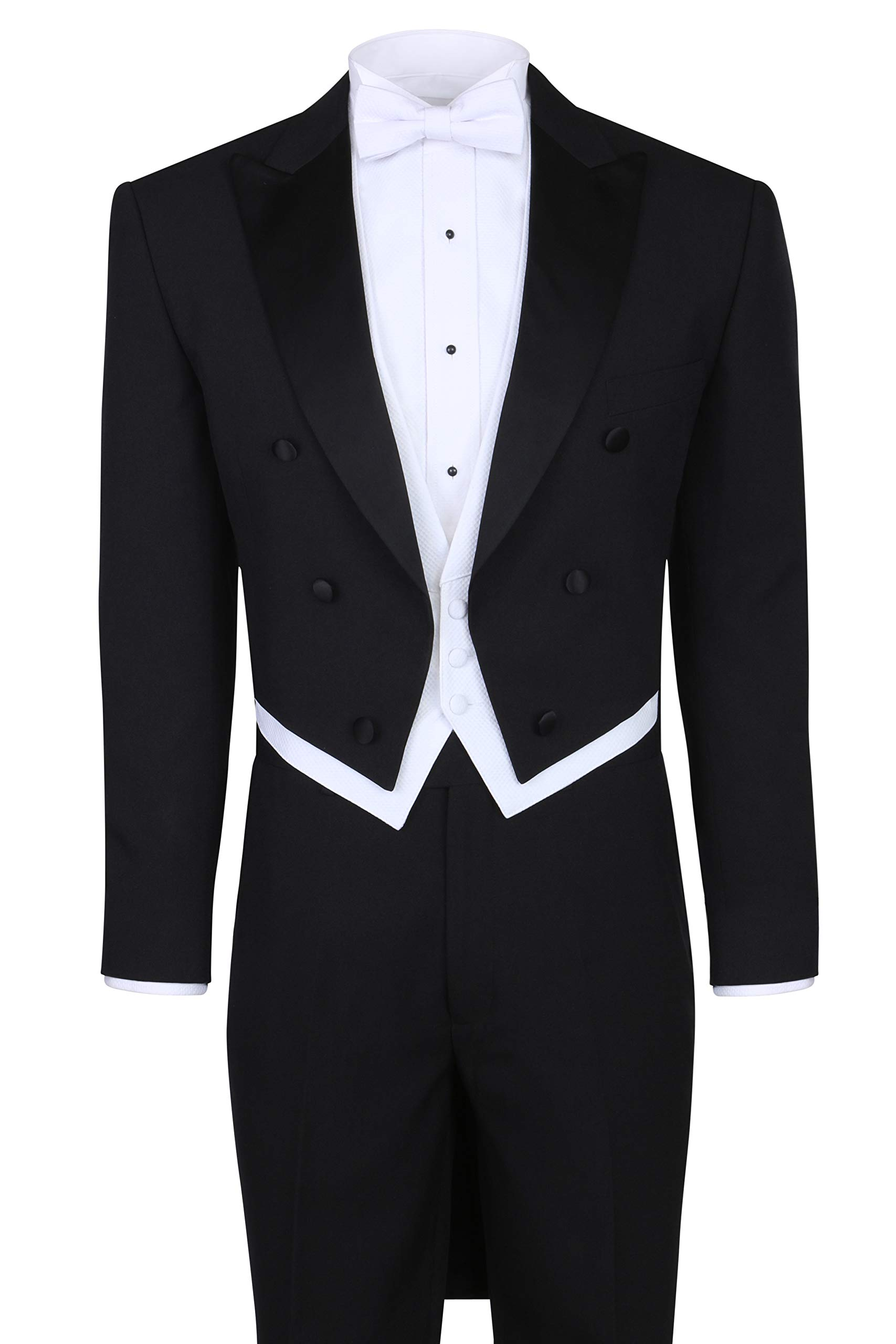 2a09f68f1d Men s Tuxedo Tails - Tailcoat and Trousers Available in Black or White  product image