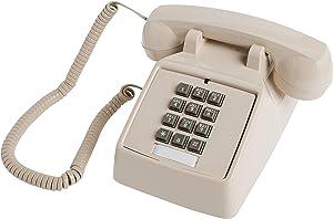 Cortelco 250044-VBA-20MD 1-Handset Landline Telephone, ash