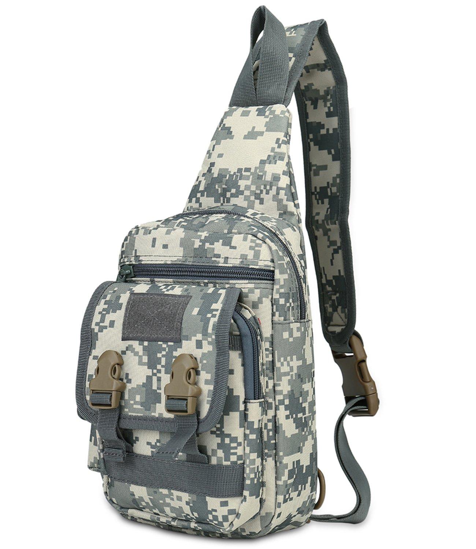 DOBRING Sling Bag Chest Shoulder Unbalance Crossbody Backpack for Women Men Girls Boys Travel Daypack by DOBRING
