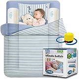 Amazon.com: Rieles de la cama hinchable para niños. Portátil ...