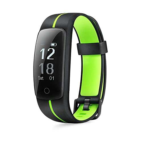 MICROTELLA Fitness Tracker Waterproof, Smart Activity Watch, Smart Band with Step Counter, Calorie
