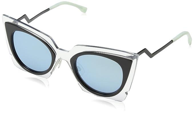 4d8ba2b984c Amazon.com  Fendi Women s Bold Statement Sunglasses