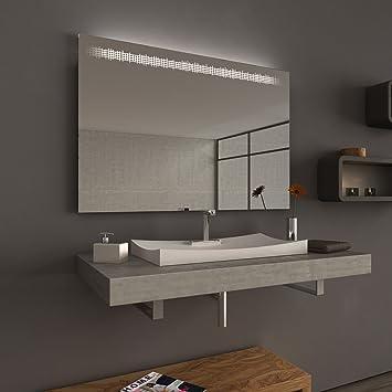 Badezimmerspiegel Scratch B 1300mm X H 800mm Kaltweiss Lichtspiegel