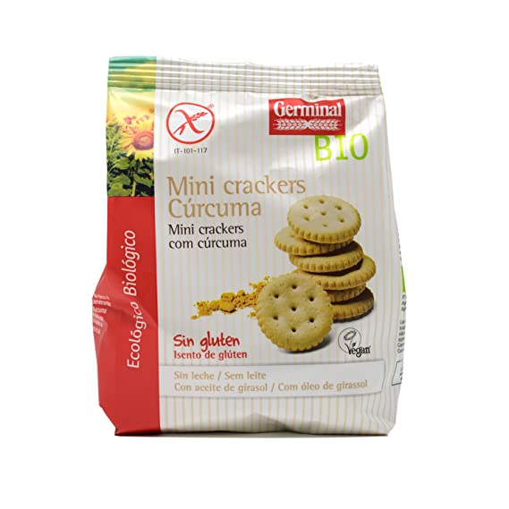 Germinal Mini Crackers con Cúrcuma - 100 gr