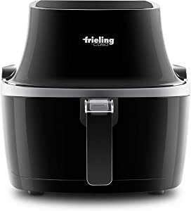 Frieling 5002, 4.6qt Electric Low-Fat Hot Air Fryer with Advanced Hot Air Circulation Technology, Black…