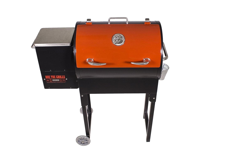 REC Tec grillstm Mini portátil Pellet parrilla: Amazon.es ...