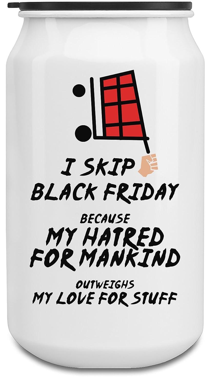 I skip Black Friday Botella de 350ml de latas de aluminio ...