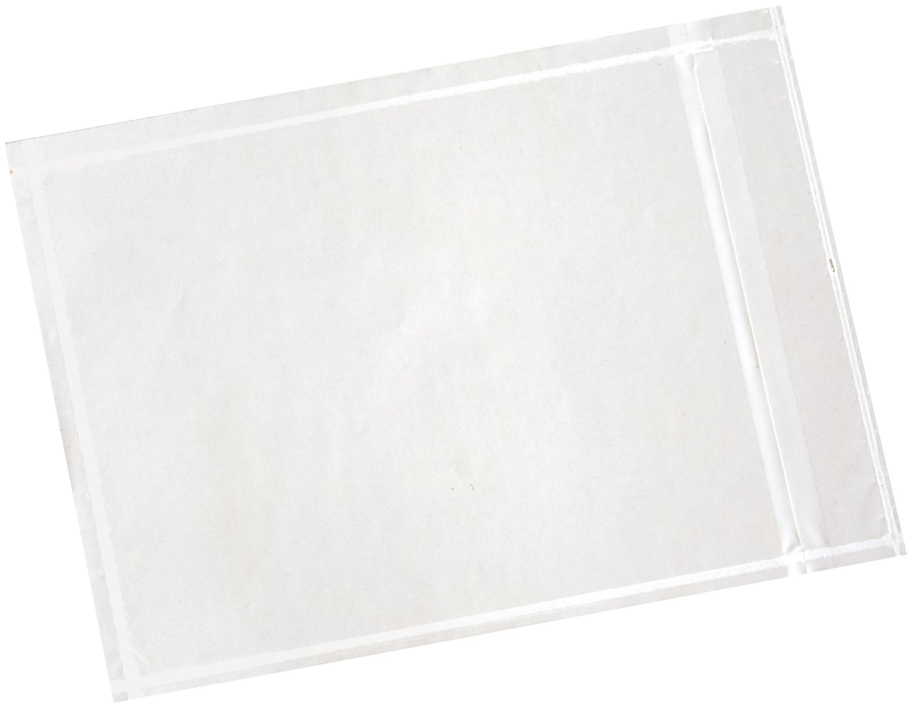 3M PLE-NP2 Non-Printed Packing List Envelope, 4.5'' Width, 6'' Length, Clear (Box of 1000) by 3M