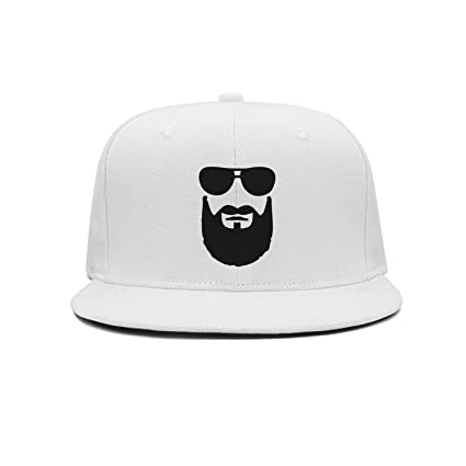 adfed0beda0 Unisex Fashion Cool Beard Sunglasses ColorName Man Baseball Cap Trucker Hat  at Amazon Men s Clothing store