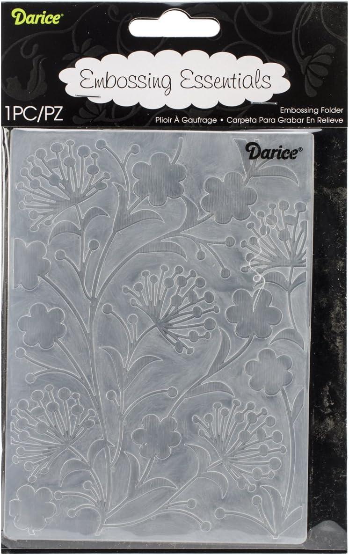 Darice Embossing Folder 4.25X5.75 Fall Leaf Background