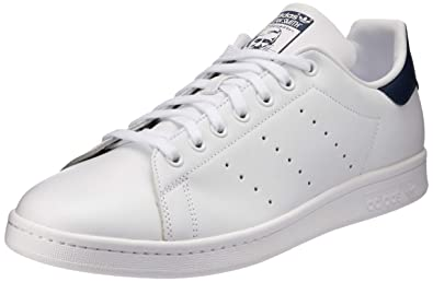 5bede86fa82d adidas Originals Men's Stan Smith Cwhite and Dkblue Sneakers - 7 UK/India  (40.67