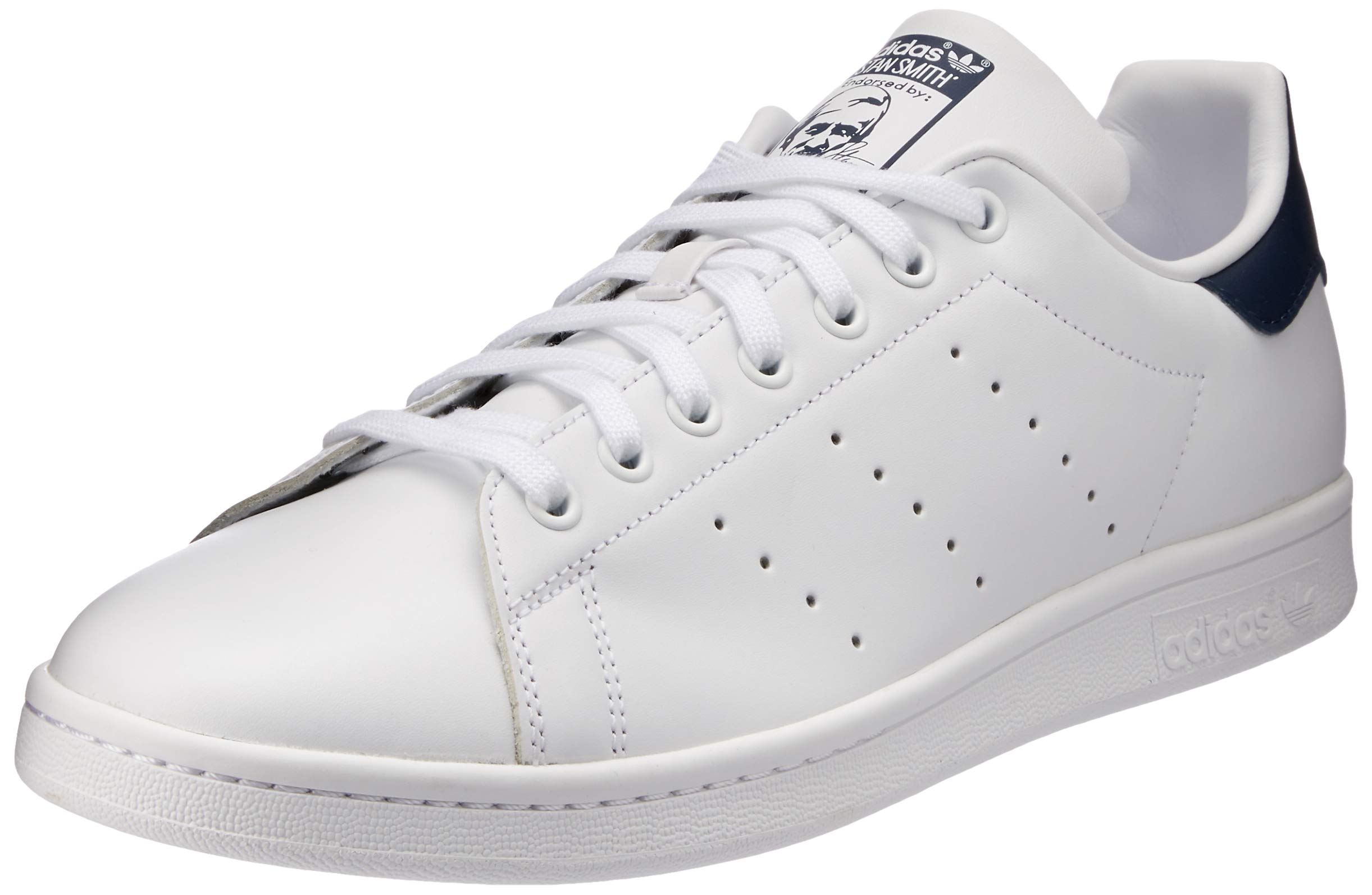 detailed look 4c873 a49ff adidas Stan Smith Vulc Running White/New Navy Skate Shoes-11