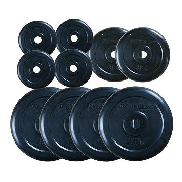 Sport-Thieme Goma Juego de Discos de Pesas 60 kg