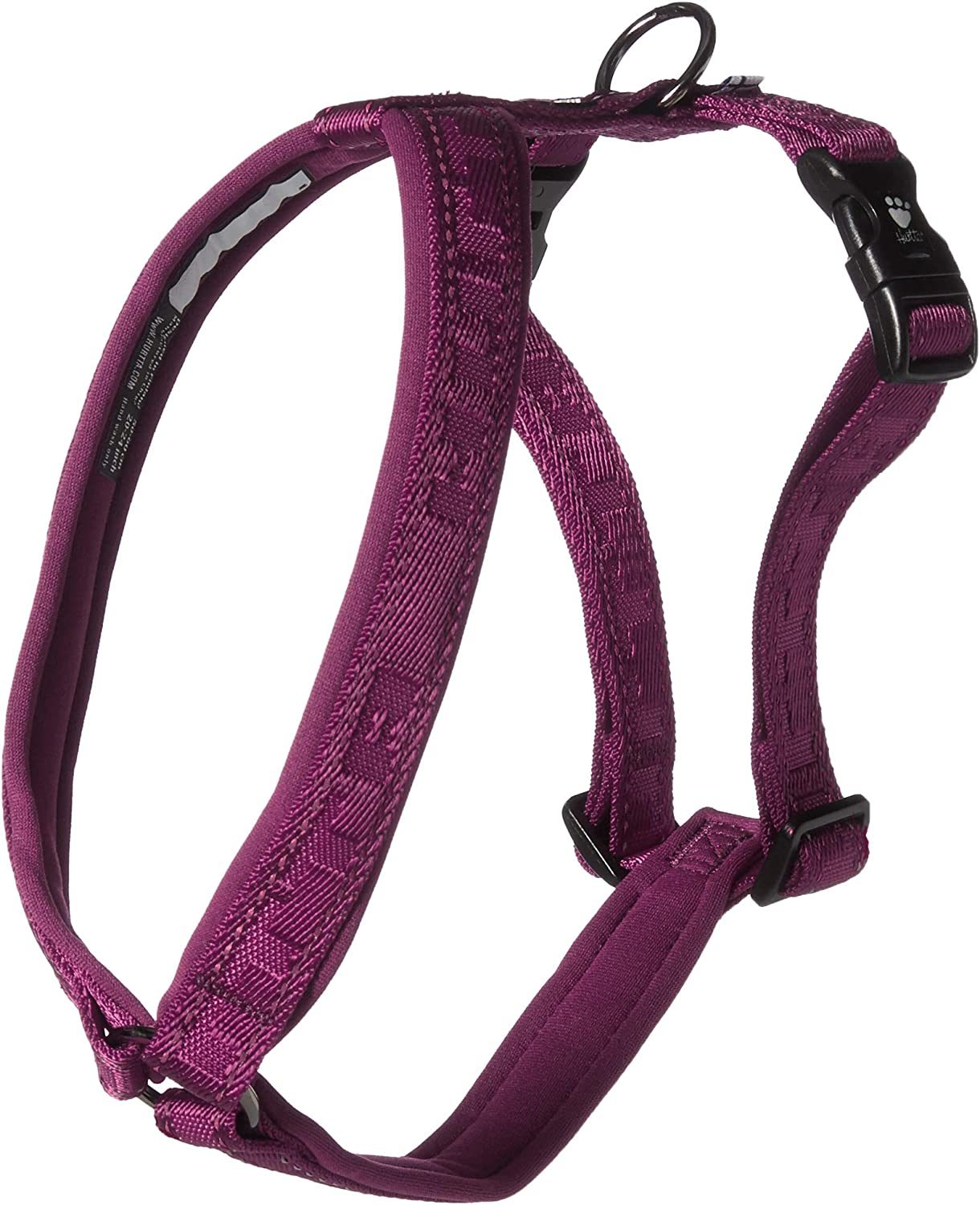 Hurtta Casual Padded Dog Y-Harness 39 in Ash