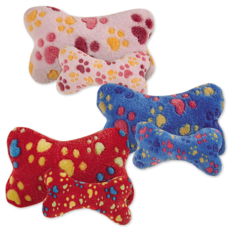Zanies Ruff 'N' Tumble Bones Dog Toys, 72-Piece Refill Packs