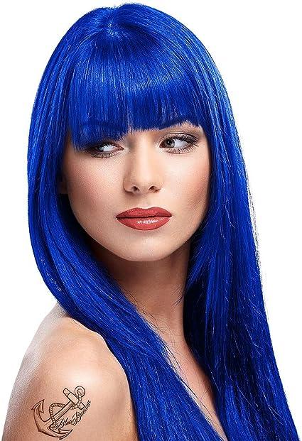 Tinte capilar de La Riche Directions 88ml (Midnight Blue - azul medianoche)