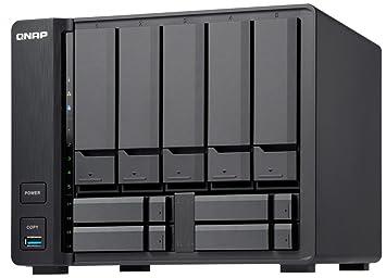 QNAP TVS-951X-2G-US 5+4 Bay NAS Intel Celeron Dual-Core 1 8 GHz, 2GB DDR4 1  X 10GbE Nbase-T LAN, 1 X GbE LAN, 1 x HDMI