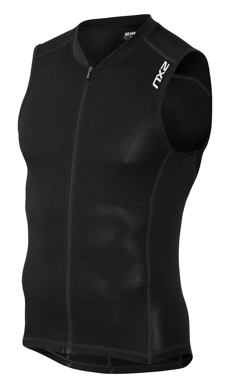 代引き手数料無料 2XU メンズ Active Multi-Sport Tri Tri Singlet(アクティブマルチスポーツトライシングレット)トライアスロン用ウエア 2XU B01AVN8K7U ブラック/ブラック ブラック/ブラック L, バラエティショップS&T:b2d15058 --- arianechie.dominiotemporario.com