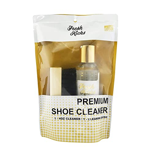 ee2c7117397 Fresh Kicks Premium Shoe and Sneaker Cleaner Kit - Perfect as Suede Shoe  Cleaner