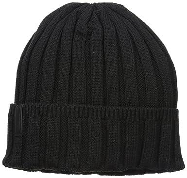c454de399cb Calvin Klein Men s 5 X 5 Rib Stitch Cuff Hat