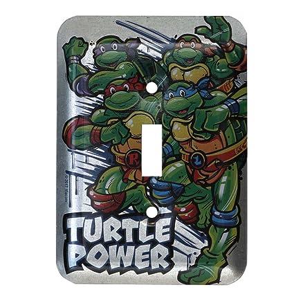 Amazon.com: Teenage Mutant Ninja Turtles Switch Plate: Home ...