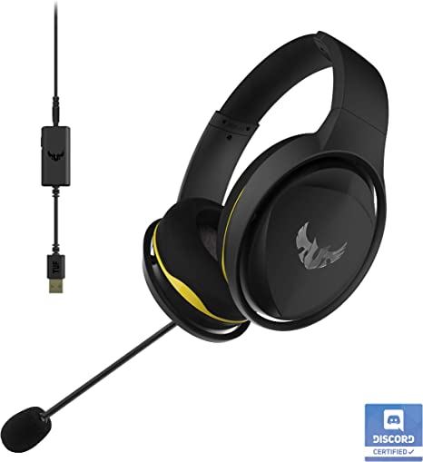 Amazon.com: ASUS TUF Gaming H5 Discord - Auriculares de ...
