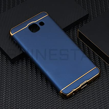 big sale db344 d3a0d SHINESTAR 3-in-1 Dual Layer Thin Back Cover for Samsung Galaxy J7 Max(Blue)