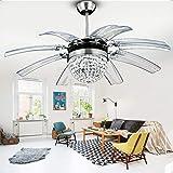 Amazon.com: Vhouse - Lámpara de techo con ventilador (42