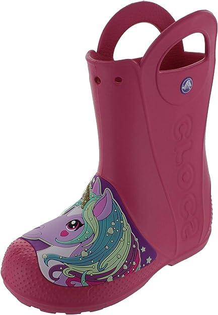 Crocs Girl's Creature Rain Boot