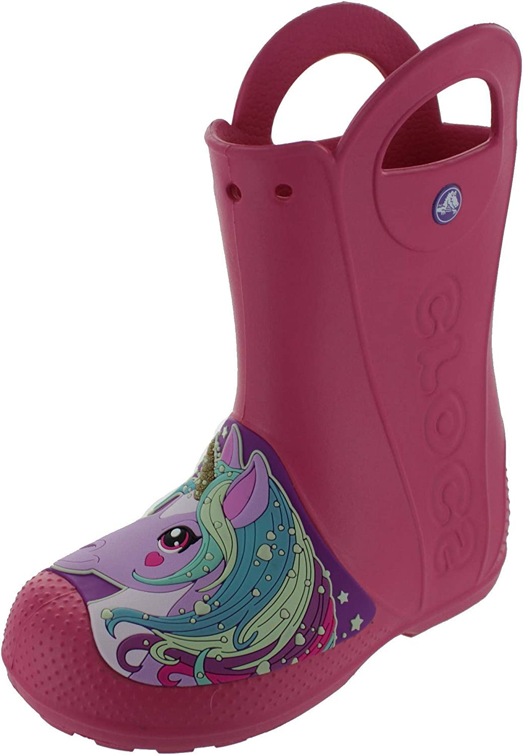 ee2e8d2db Crocs Girl s Creature Rain Boot Wellington Shoes  Amazon.co.uk  Shoes   Bags