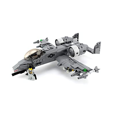 A-10 Warthog Thunderbolt Expert Air Force Custom Set: Toys & Games