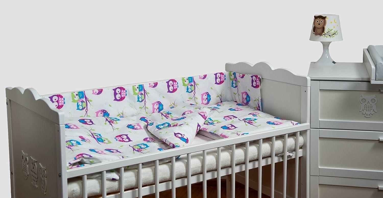 Velinda 6 Tlg Baby Bettwäsche Set Bettzeug Bettbezug Bettgarnitur