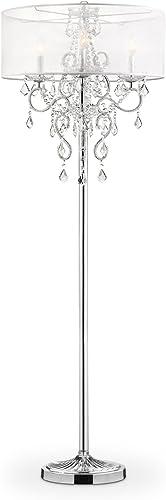 OK Lighting OK-5153F 63″H Evangelia Floor Lamp
