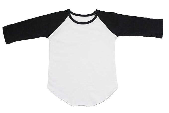 huge range of popular stores attractivefashion Amazon.com: BLACK Toddler Girl's Raglan Shirt Baseball Blank ...