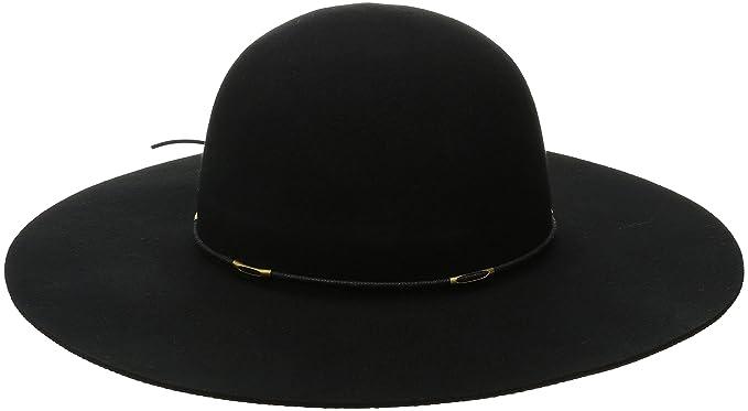 SCALA Women s Felt Floppy Hat with Wax Cord Trim b28acc226d9