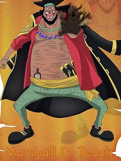 Amazoncom Xxw Artwork One Piece Marshall D Teach Poster