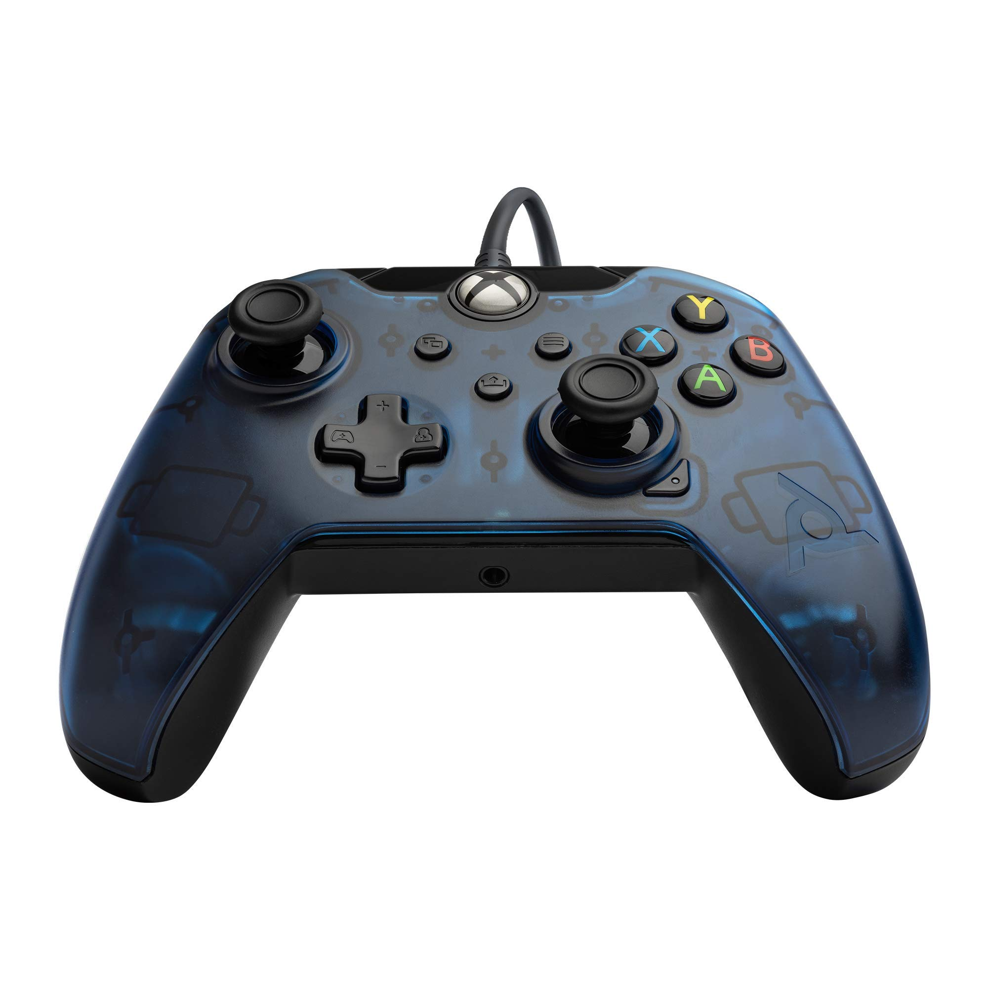PDP Gaming Wired Controller: Midnight Blue - Xbox One