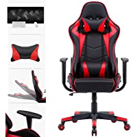Advwin Gaming Chair Racing Style Computer Office Chair, Reclining Executive Chair, Relieve Fatigue (Ergonomic Design…