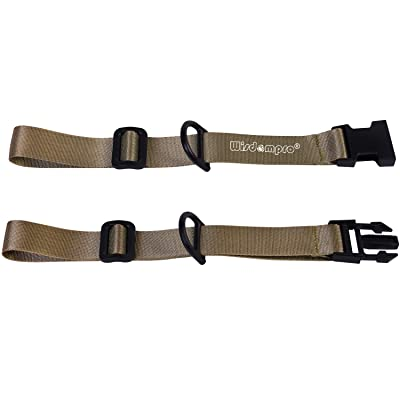 Backpack Chest Strap Heavy Duty Adjustable Sternum Belt With Quick Release For