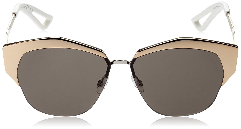 4d4872f14d77 Amazon.com  Christian Dior Mirrored S Sunglasses Rose Gold Palladium Brown   Dior  Clothing